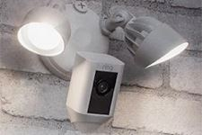 Ring Video<br>Floodlight Cam.